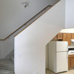 Kitchen & Stairway
